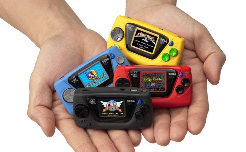 ゲームギア30周年記念!『ゲームギアミクロ』が10月6日に発売!4色のカラーにそれぞれ異なる4タイトルを収録!ゲームギアが手のひらサイズに!?