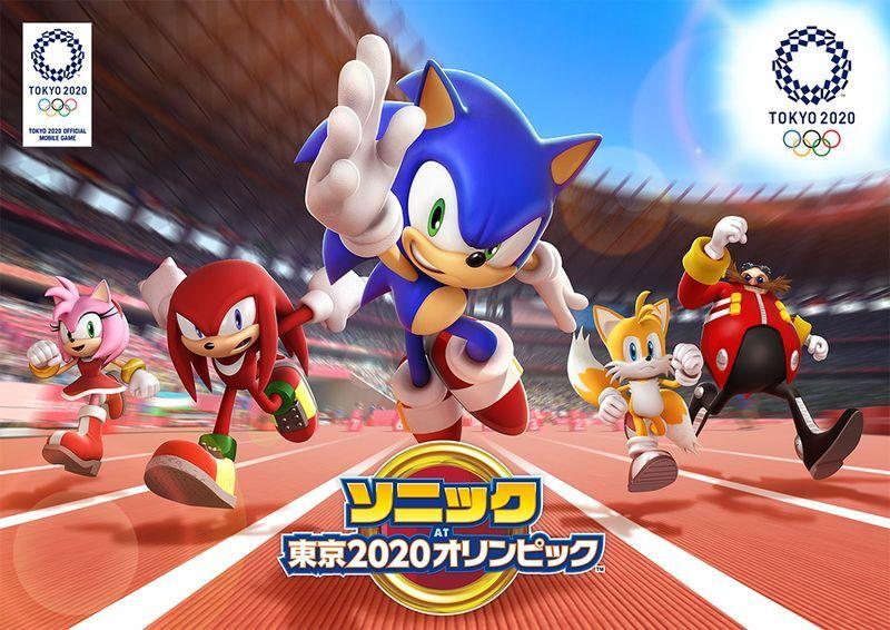 東京2020オリンピック公式モバイルゲーム『ソニック AT 東京2020オリンピック™』にて事前登録125万件達成!スマホ壁紙も配布中!