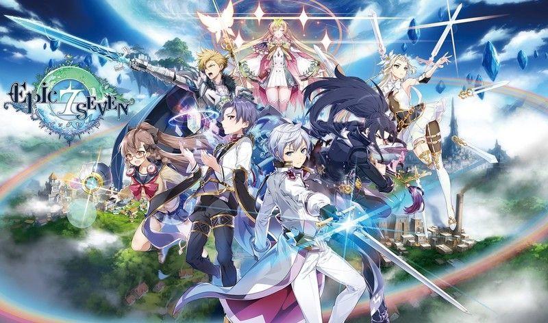 2019年配信予定『Epic Seven(エピックセブン)』事前登録10万人突破&77,777円キャンペーン実施中