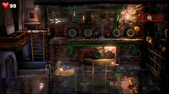 ルイージ マンション 3 地下 2 階 キノピオ