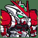 ★4/攻撃型 ガンダムアストレイレッドフレーム パワードレッド(シリーズ:機動戦士ガンダムSEED ASTRAY)
