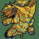 ★4/支援 フェネクス(NTver./デストロイモード)(シリーズ:機動戦士ガンダムNT)