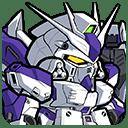 ★4/万能 Hi-νガンダム(ヘビー・ウェポン・システム装備型)(シリーズ:機動戦士ガンダム 逆襲のシャア)