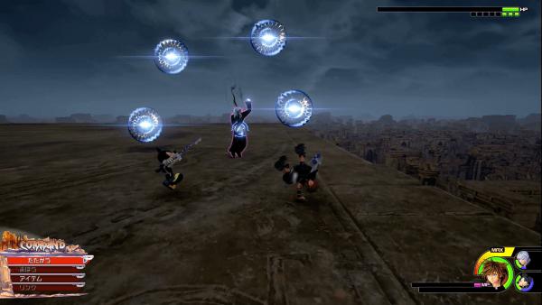 Kingdom Hearts 3 Xemnas Attack 5