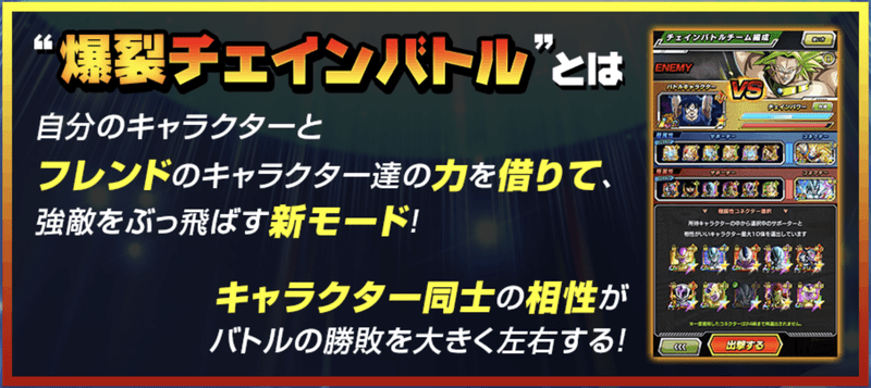 バトル チェイン バトル ドッカン 【ドッカンバトル】リンクスキル上げおすすめ周回ステージ
