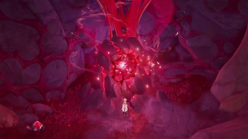 神 赤い 生物 原