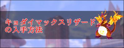 剣 巨大 ポケモン マックス リザードン 盾